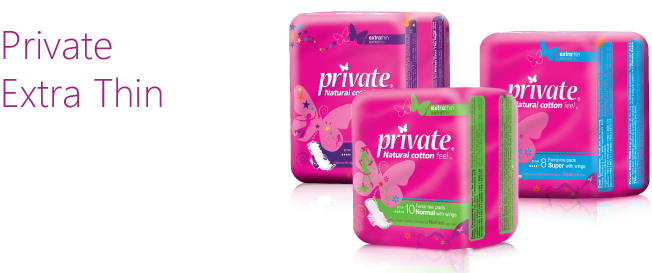 Private Extra Thin by Sanita - Natural cotton feel