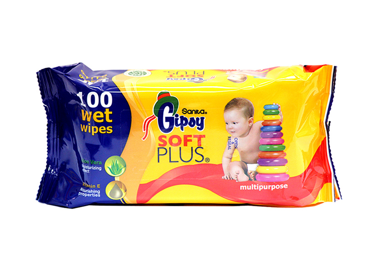 Gipsy Soft Plus Value Pack Wet Wipes