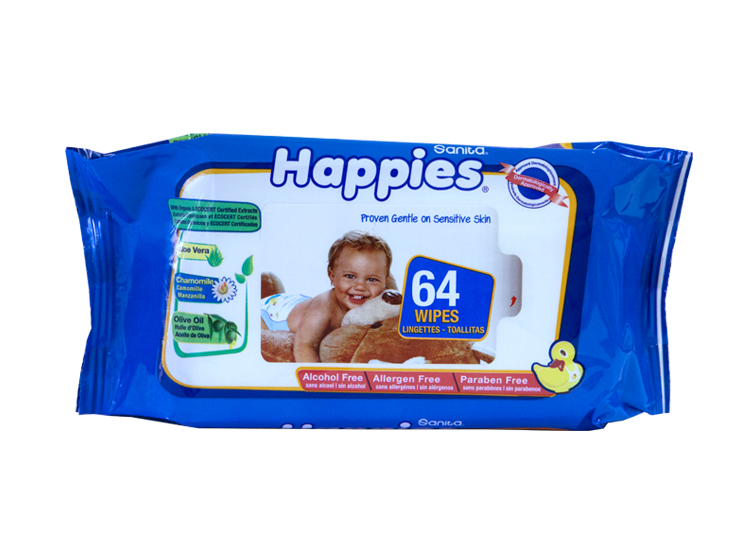 Happies Baby Wet Wipes For Sensitive Skin